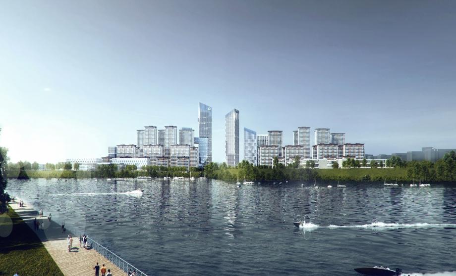 武汉中国城乡总部经济产业园示范区