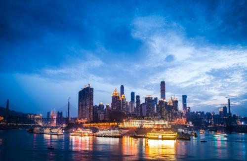 重庆南滨路景区